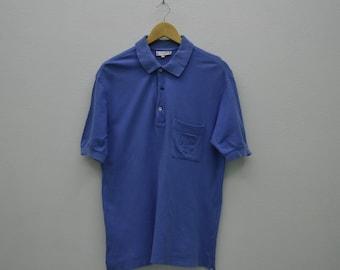 Celine Shirt Men Size L Vintage Celine Polo Shirt Celine Vintage Casual Shirt Made in Italy