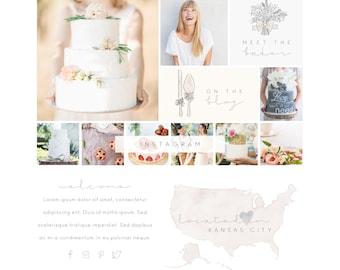 Wix Website template, cake website template, wedding cake website design, cakes, bakery website design, cake blog template, template 4857