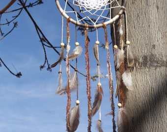 50% OFF! Earth Tones with Pheasant Feathers Dream Catcher