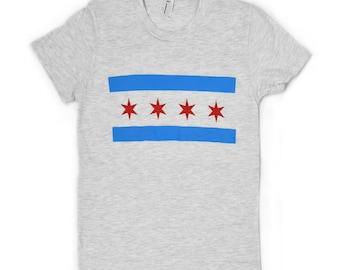 Chicago Flag Women's T-Shirt