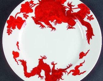 Fitz & Floyd Temple Dragon Small Plates