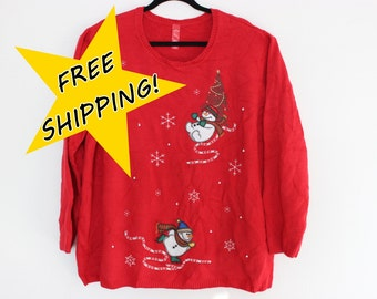 Ugly Christmas Sweater  XXXXL  633