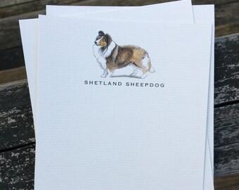 Shetland Sheepdog Note Card Set