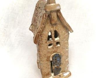 ZionPots Ancient Stone Church, Ceramic Church, Pottery Church, Miniature Church, Collectable, Stoneware, UK Studio Pottery