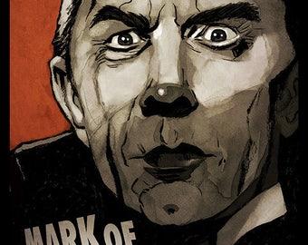 Mark of The Vampire movie poster full colour art print