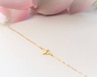 Dove Charm Necklace/Gold Dove Necklace/SilverDove Necklace