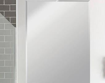 Frameless Beveled Mirror size 24x36, 30x36, 30x40, 36x48  Frameless mirrors