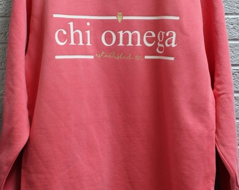 Comfort Color Sweatshirt with Press on Design