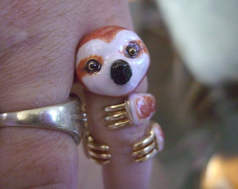 Baby SLOTH ring sale!!