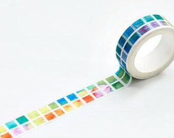 color square washi tape