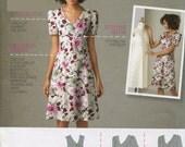 Misses Dress Pattern Simplicity 2247 Sleeve Collar Length Variations Size 10 12 14 16 18 UNCUT