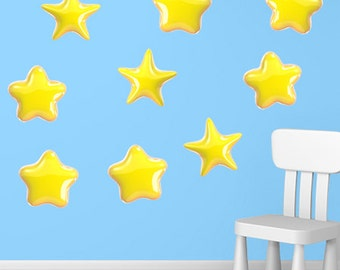 Wall decals stars A515 - Stickers étoiles A515