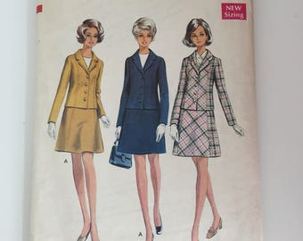 """Style 2563 Suit Sewing Pattern / Bust 36"""""""