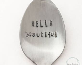 Hello Beautiful - Teaspoon Gift