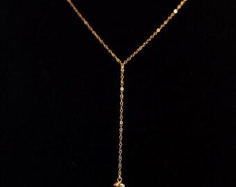 Herkimer Diamond Lariat