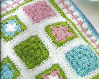 Instant Download - PDF- Cute Baby Blanket Crochet Pattern (CB68)
