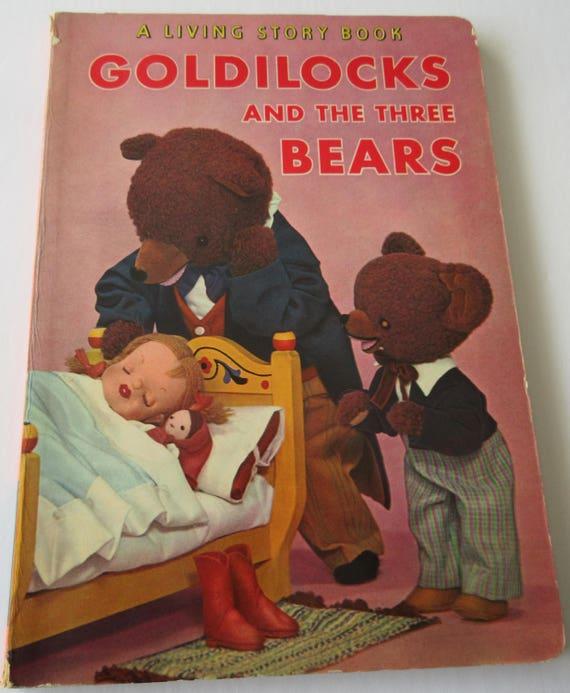 Ricitos de oro y los tres osos un libro de historia de vida