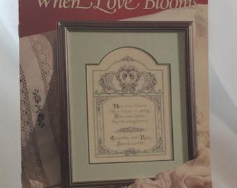 When Love Blooms - Leisure Arts 2023 Leaflet by Diane Brakefield