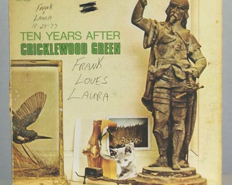 Ten Years Later Cricklewood Green 1970 Blues Rock Original Vintage Vinyl Record Album LP