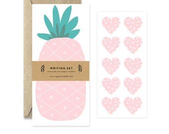 Pineapple Letter Writing Set