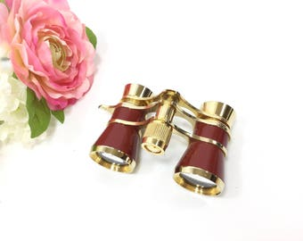 Ladies Vintage Dakota Opera Glasses Binoculars, Theater Glasses, Symphony Glasses, Ballet Binoculars, Gift #A819