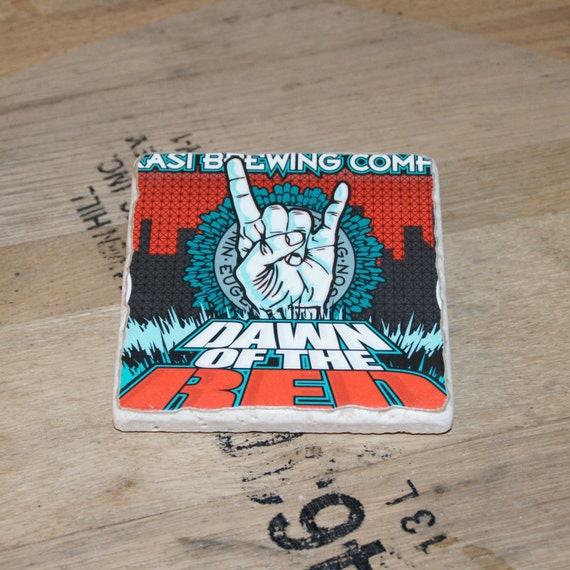 UPcycled Coaster - Ninkasi - Dawn of the Red