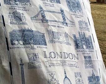 Historic London Tea Towel