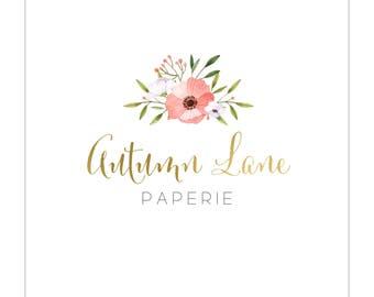 Logo Design | Business Logo | Flower Bouquet Logo | Floral Logo | Branding Package | Business Branding | Predesigned Logo | Premade Logo