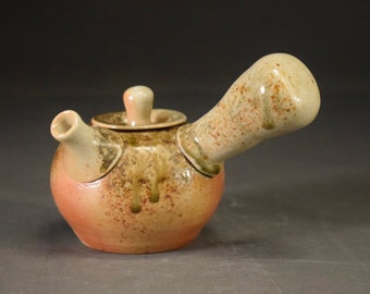 Shino Wood Ash Teapot
