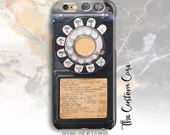 Retro Payphone Phone Case, Vintage Coin Phone Phone Case, Iphone 4/5/5c/6/6+/6s, Samsung Galaxy S3/S4/S5/S6/S6 Edge/6Edge+, Note 3/4/5