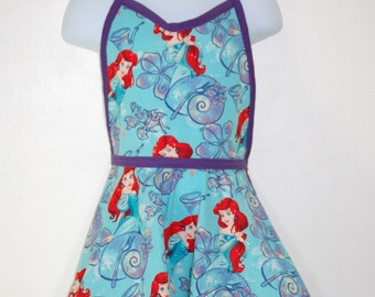 Vintage Inspired Aprons-Belle-Ariel-Rapunzel-Snow White- Princess- All Sizes
