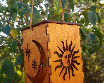 Sun and Moon Battery Powered Lantern