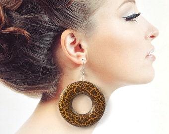 African hoop earrings Tribal jewelry handmade earrings statement earrings ethnic big earrings rustic jewelry handmade jewelry Gift|for|her