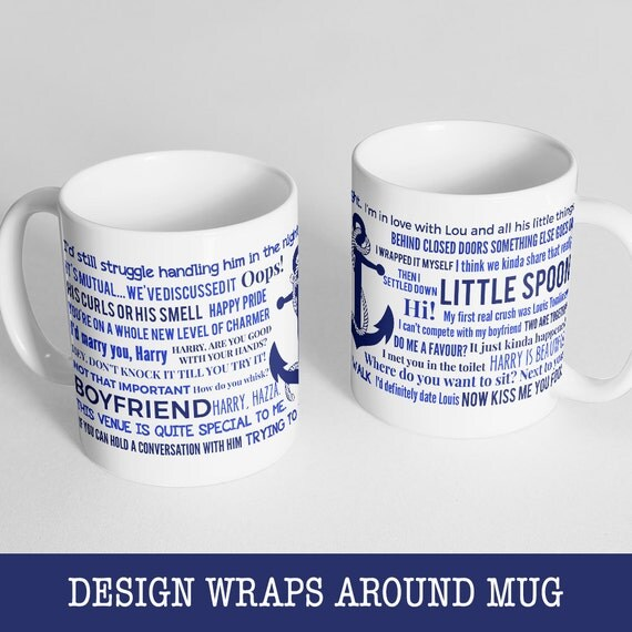 Coffee Mug Larry Stylinson Quotes Mug - Version 1