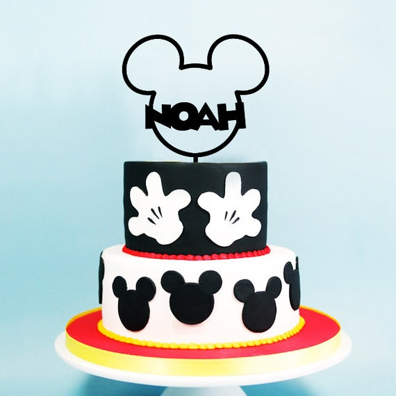 mickey ears wedding cake topper mickey mouse cake topper birthday mickey ears 17351