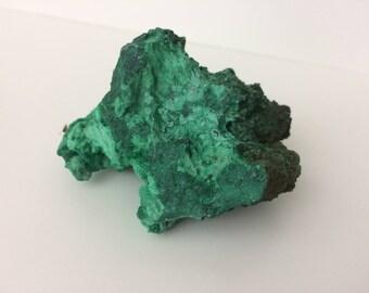 Green Malachite Crystal Cluster - Raw Malachite