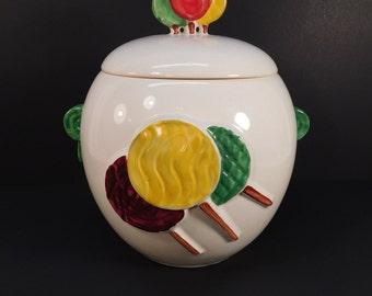 Vintage McCoy Lollipop Cookie Jar, McCoy Pottery, Collectible Cookie Jar