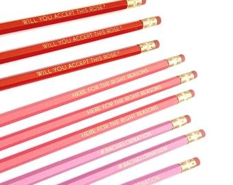 THE BACHELOR pencils