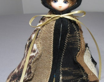 Animal print Pukipuki cloak