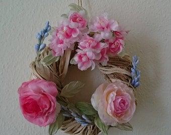 Dekokranz with flowers, wreath