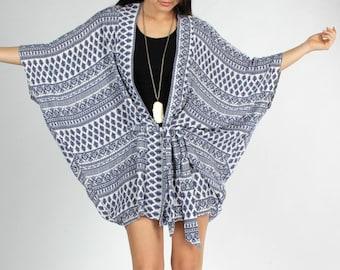 Boho Kimono, Gypsy, Kimono, Kimono Robe, Festival Clothing, Kimono Cardigan, Kimono Coverup, Swimsuit Cover up, Tribal Kimono, Belted Kimono