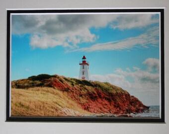 Lighthouse (8x10), Souris, Prince Edward Island, Christmas gift idea, wall art, home decor, office decor, photo gift