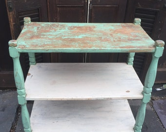 Antique Tiered Stand