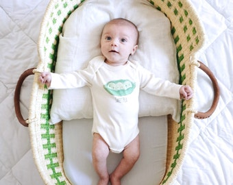 Sweet Pea Baby Clothes, Gender Neutral Baby, Organic Cotton Bodysuit, Teether, Organic Baby Clothes, Baby Girl Outfit, Baby Boy Outfit