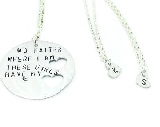 Mother and Daughter Necklace Set, Mother's Day Gift, Mother's Necklace, Mommy and Me Necklaces
