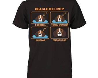 Funny Beagle Shirt | Beagle Security | Funny Beagle Gift idea