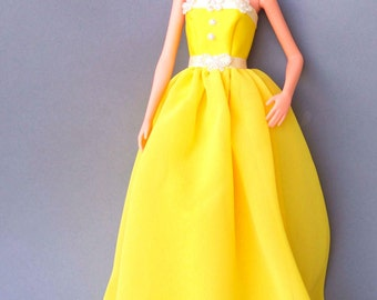 Barbie clothes - evening dress - Fashion Royalty doll clothes, 12 inch doll