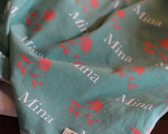 "The ""Mina"" Blanket PERSONALIZED"