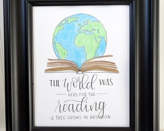 The World Was Hers For The Reading
