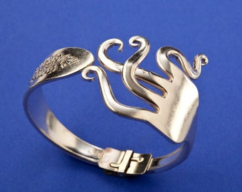Curled Fork Bracelet